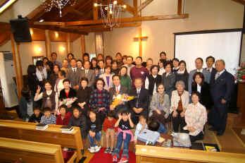 国分福音教会30周年記念祝会